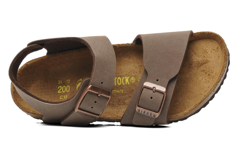 Birkenstock new york birko flor sandals in brown at for Birkenstock new york