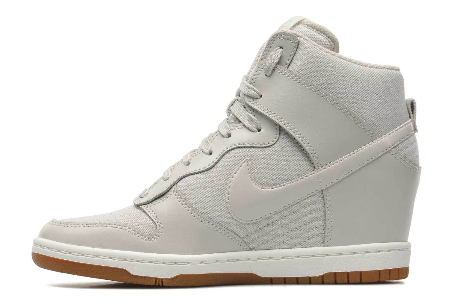 nike wmns dunk sky hi essential trainers in grey at. Black Bedroom Furniture Sets. Home Design Ideas
