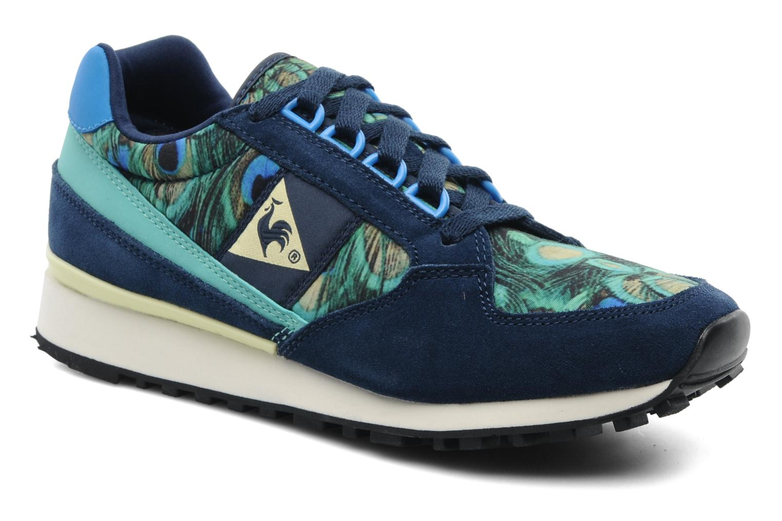 le coq sportif eclat w peacock trainers in multicolor at 190375. Black Bedroom Furniture Sets. Home Design Ideas