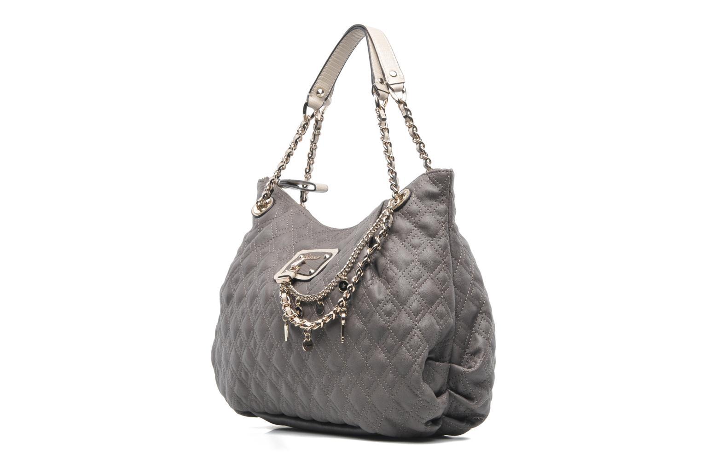 Nathan Handtassen Winter 2014 : Guess liane hayden satchel grijs handtassen bij sarenza