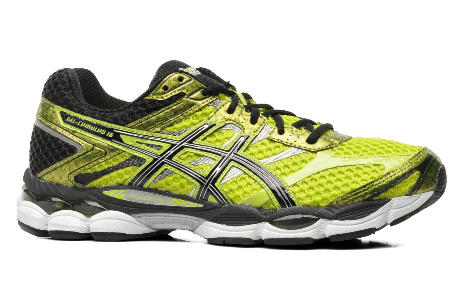 asics gel cumulus 16 sport shoes in yellow at 191104. Black Bedroom Furniture Sets. Home Design Ideas