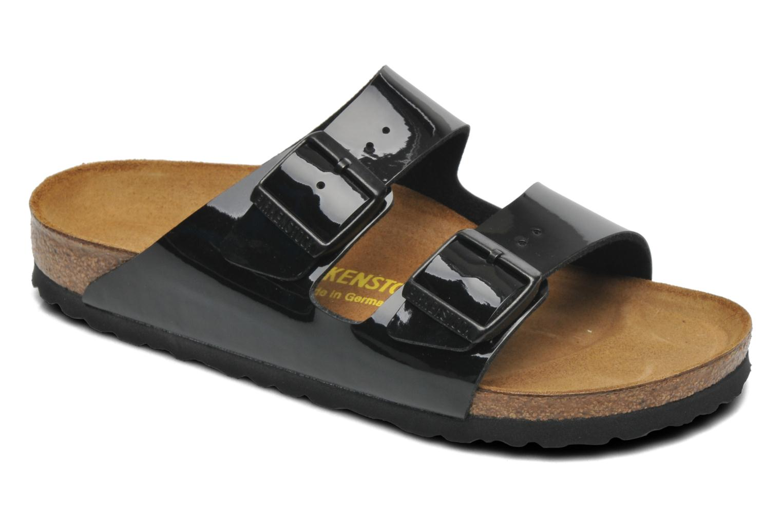 birkenstock arizona flor w noir mules et sabots chez. Black Bedroom Furniture Sets. Home Design Ideas