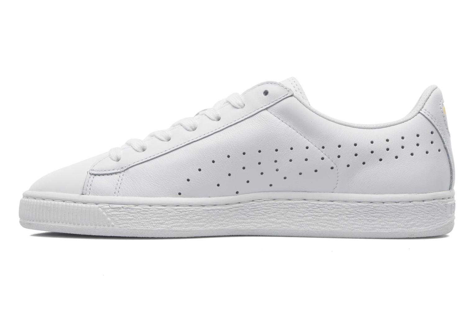 puma basket classic citi series trainers in white at 193965. Black Bedroom Furniture Sets. Home Design Ideas