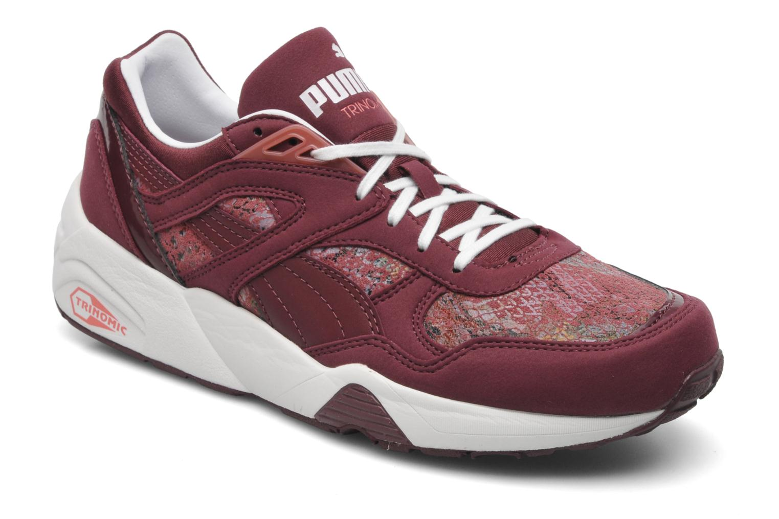 Puma Trinomic R698 Hyper Wn's Sport shoes in Burgundy at Sarenza.co.uk (193996)