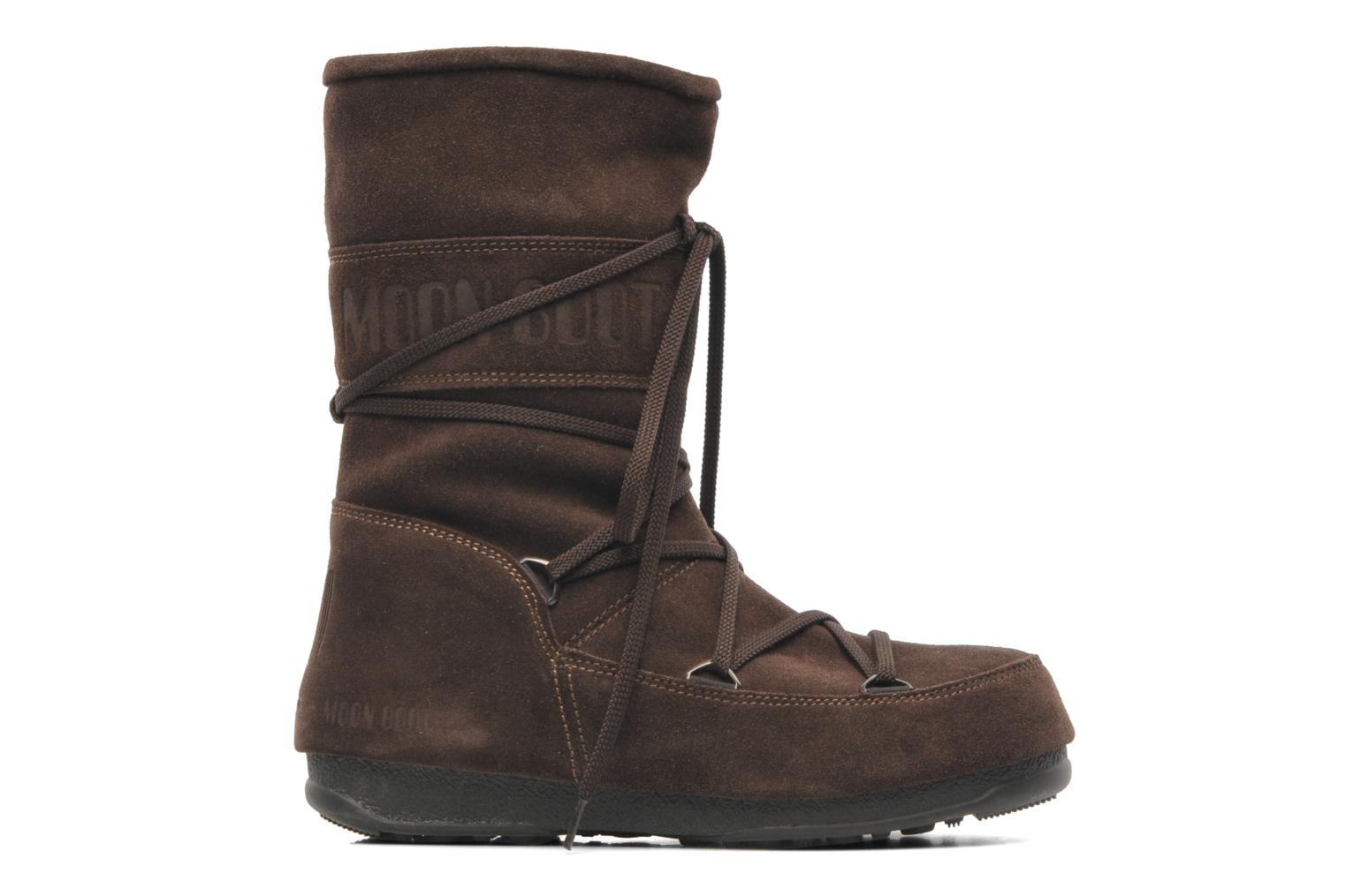 moon boot caviar mid ankle boots in brown at sarenza co uk