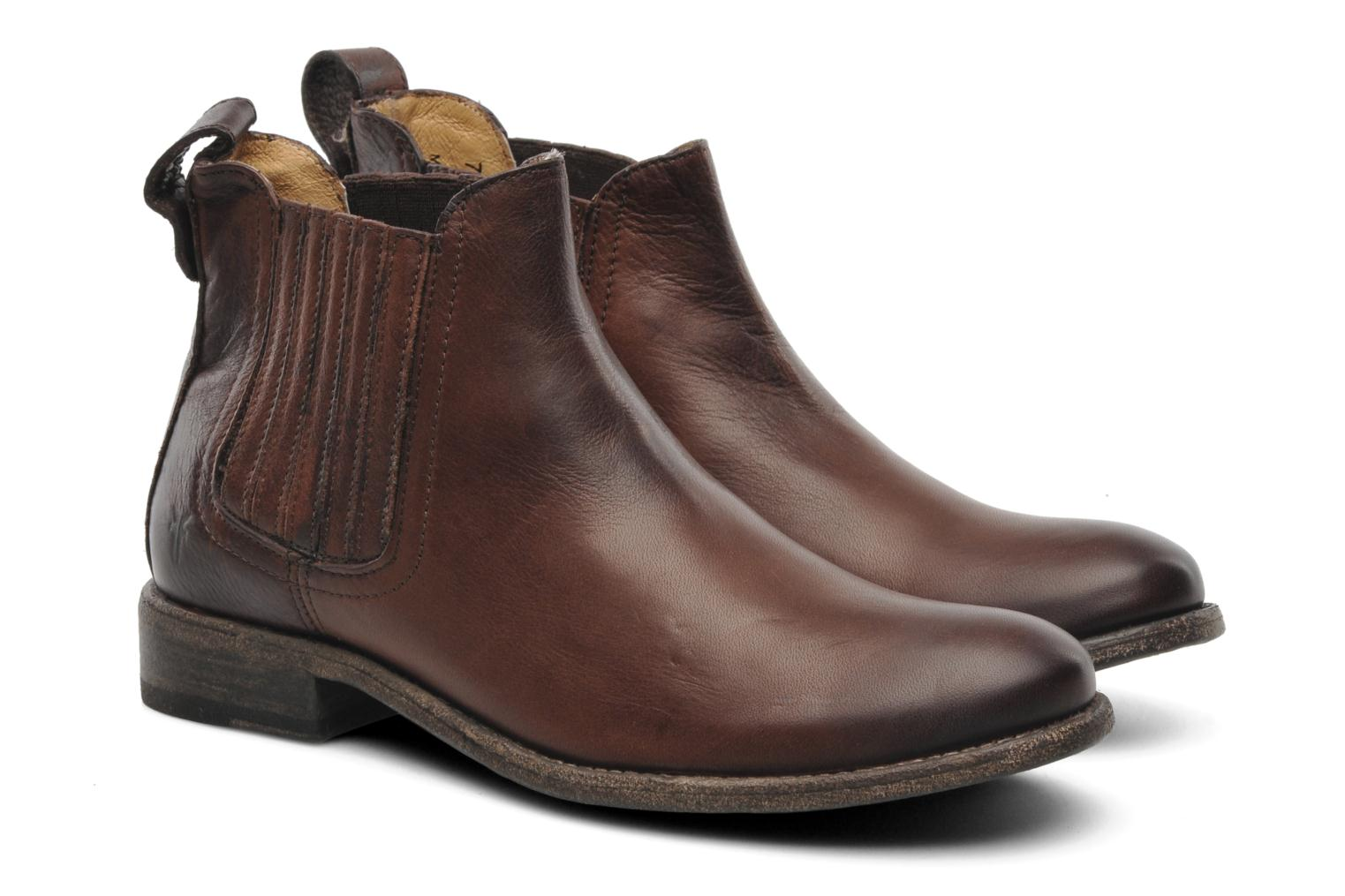 frye pippa chelsea ankle boots in brown at. Black Bedroom Furniture Sets. Home Design Ideas