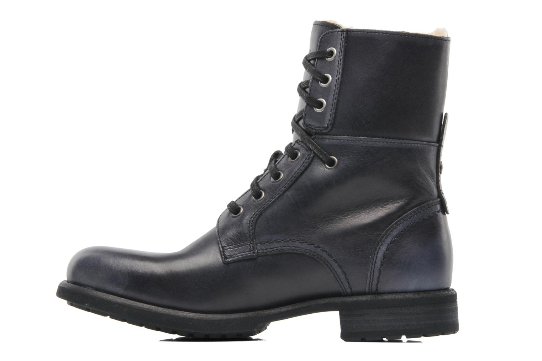 men's ugg australia dark brown larus boots