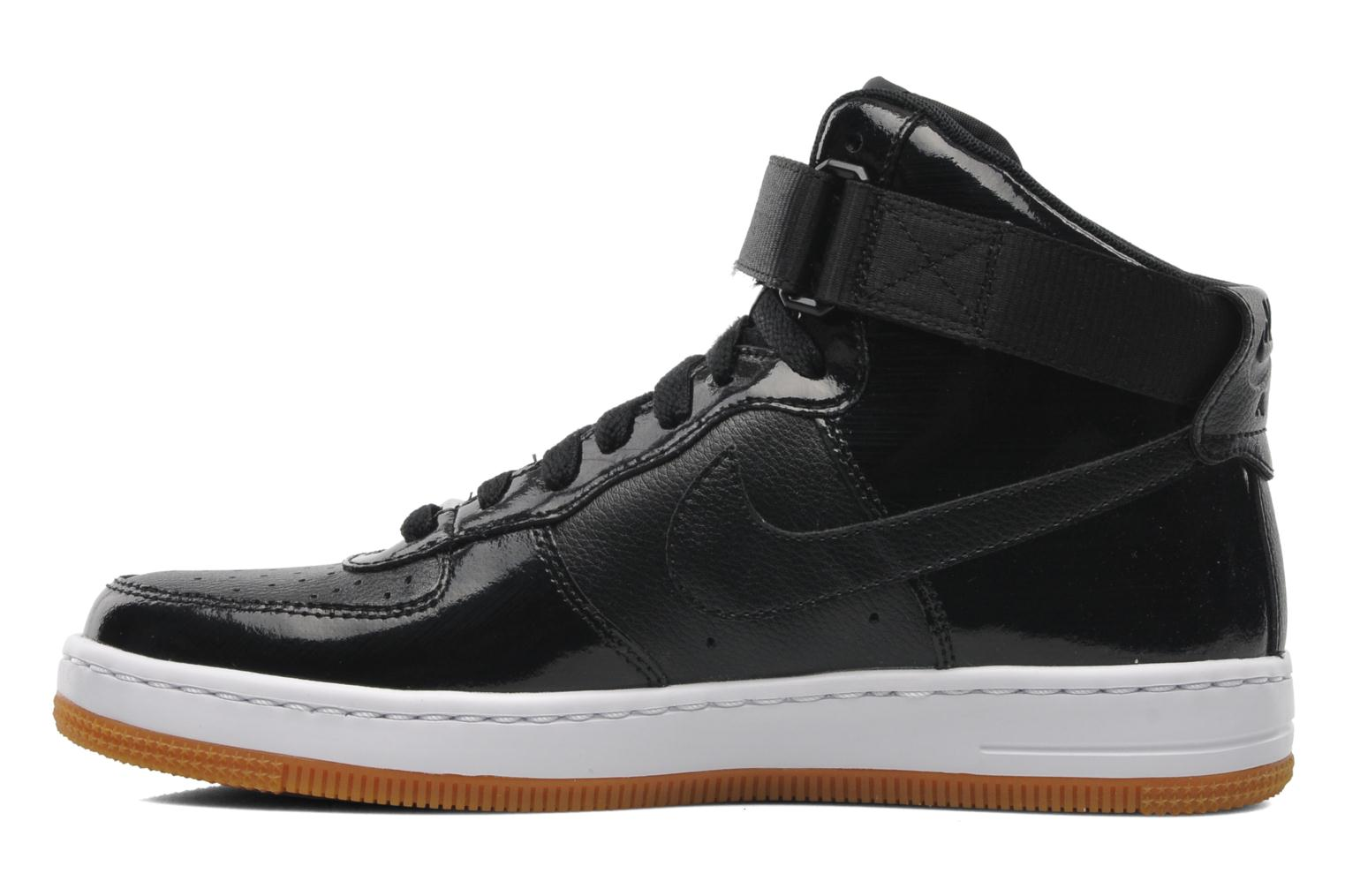 nike w nike air force 1 ultra force mid trainers in black at 199000. Black Bedroom Furniture Sets. Home Design Ideas