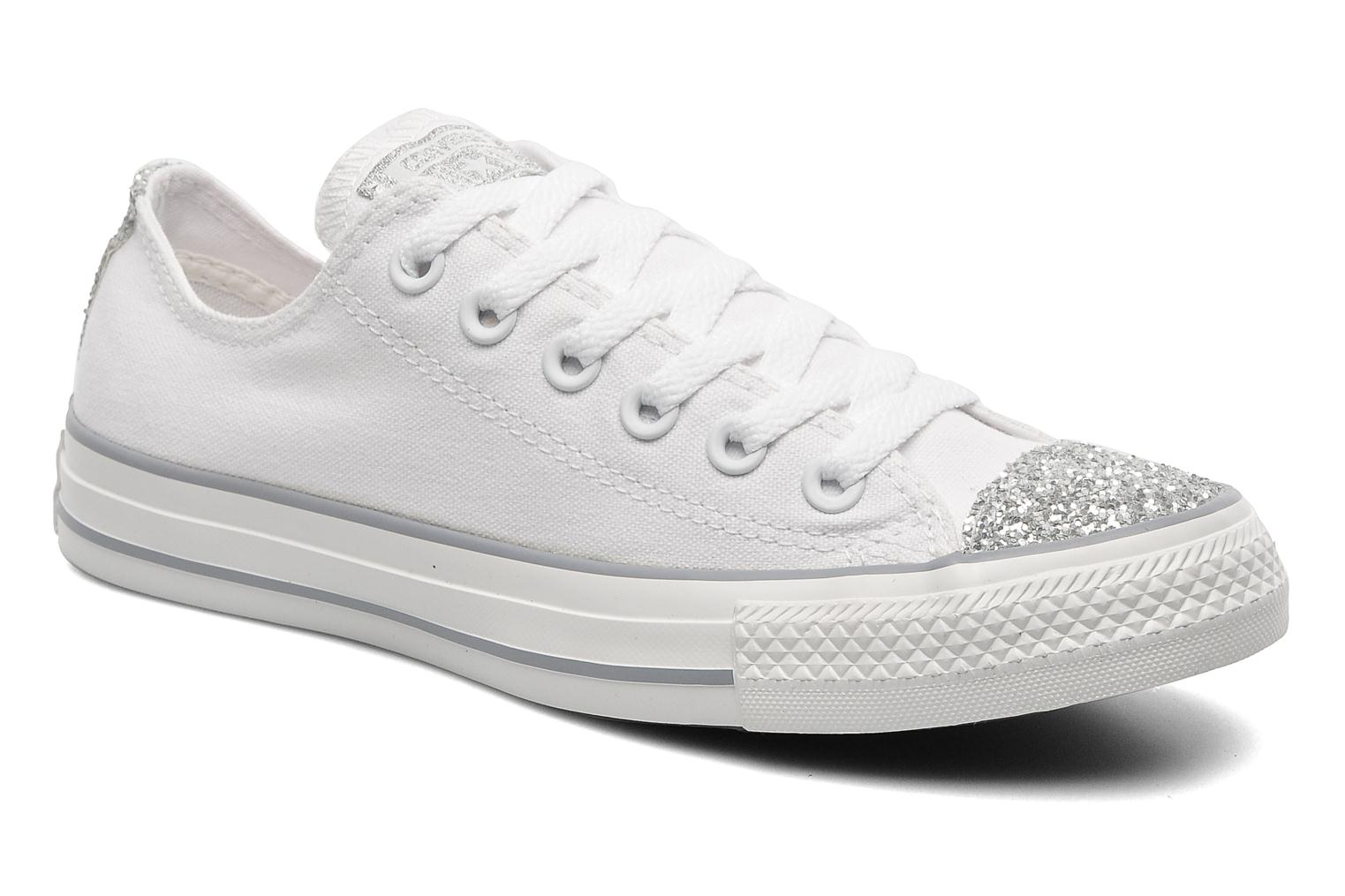 converse chuck taylor toecap sparkle ox w trainers in. Black Bedroom Furniture Sets. Home Design Ideas
