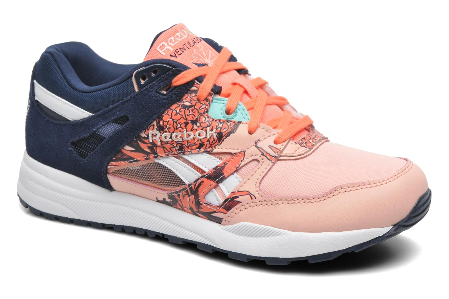 reebok ventilator graphics multicolore baskets chez. Black Bedroom Furniture Sets. Home Design Ideas