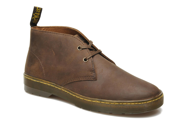dr martens cabrillo marron chaussures lacets chez sarenza 214791. Black Bedroom Furniture Sets. Home Design Ideas