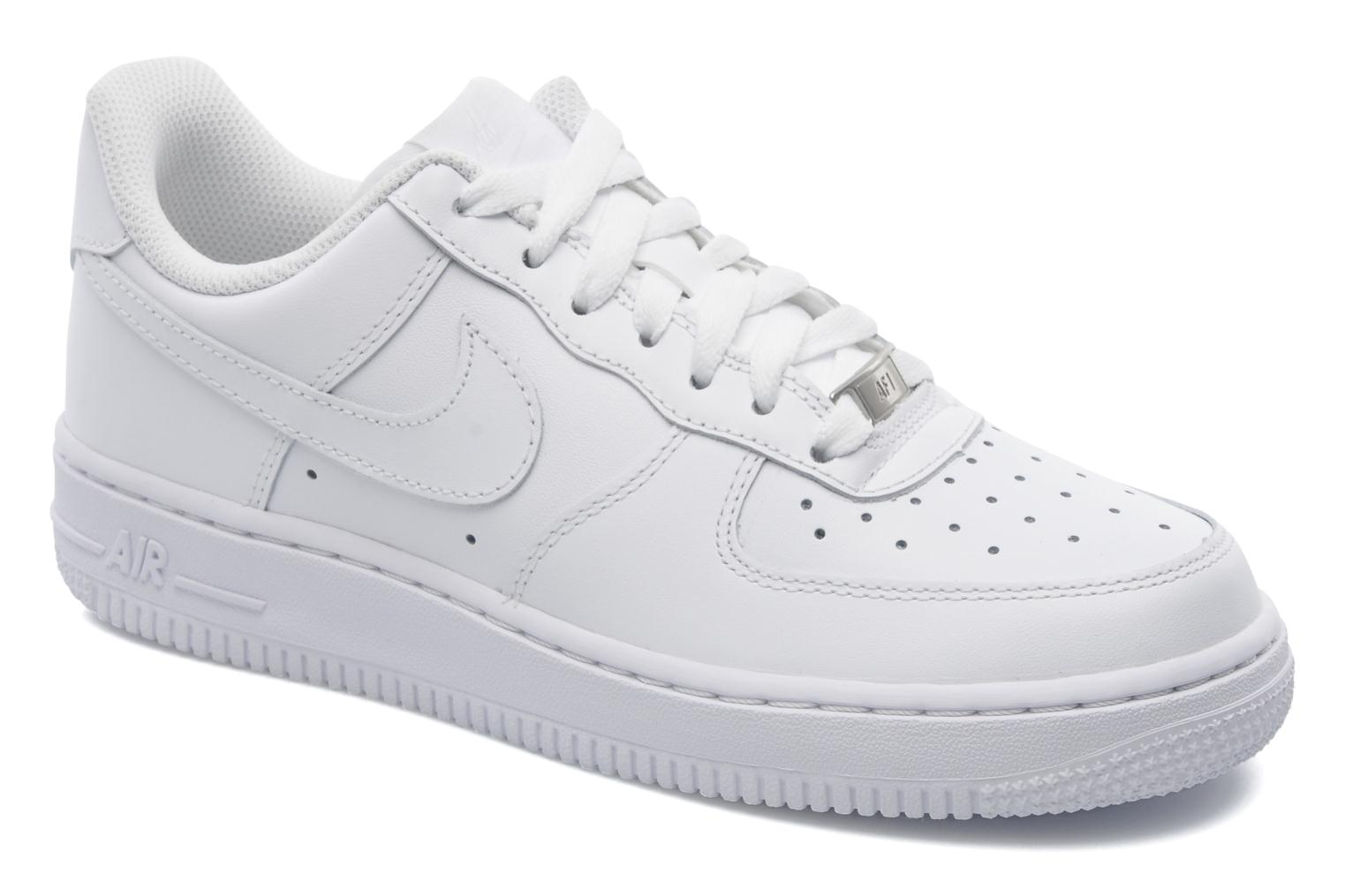deportivas nike wmns air force 1 39 07 blanco. Black Bedroom Furniture Sets. Home Design Ideas