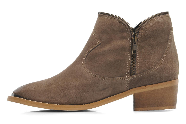 le temps des cerises grace ankle boots in beige at 216710. Black Bedroom Furniture Sets. Home Design Ideas