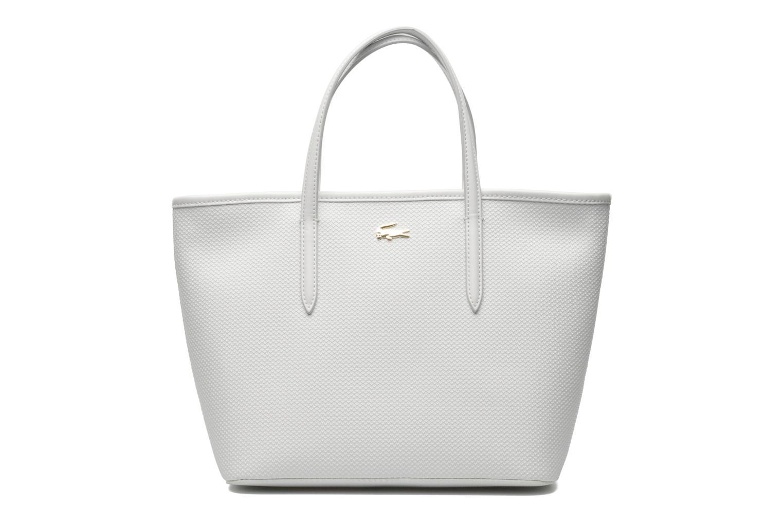 lacoste chantaco cabas s blanc sacs main chez sarenza 218398. Black Bedroom Furniture Sets. Home Design Ideas