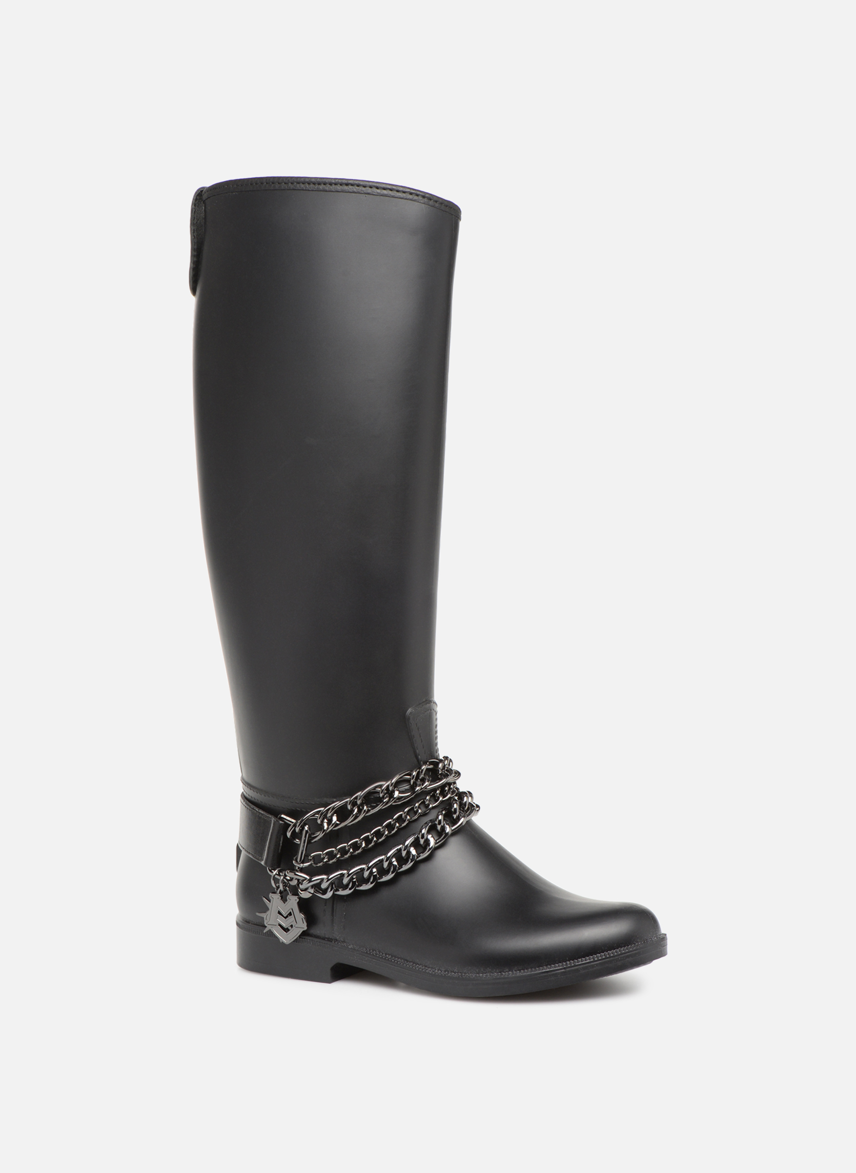 Love Moschino Rain chain boot