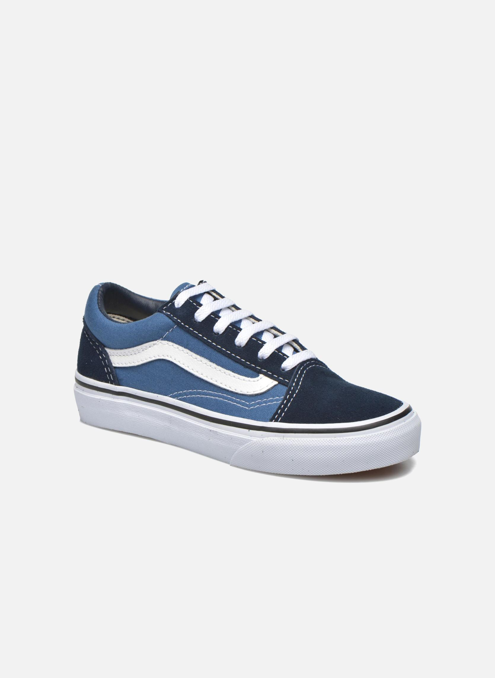 vans old skool e bleu baskets chez sarenza 272452. Black Bedroom Furniture Sets. Home Design Ideas
