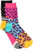 Happy Socks Calze LEOPARD Pacco da 2