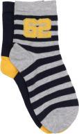 Sarenza Wear Chaussettes Enfant Coton Pack de 2