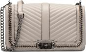 Rebecca Minkoff Woven chain Love crossbody