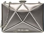 Love Moschino Silver clutch