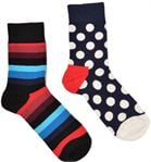 Happy Socks 2-Pack Stripe