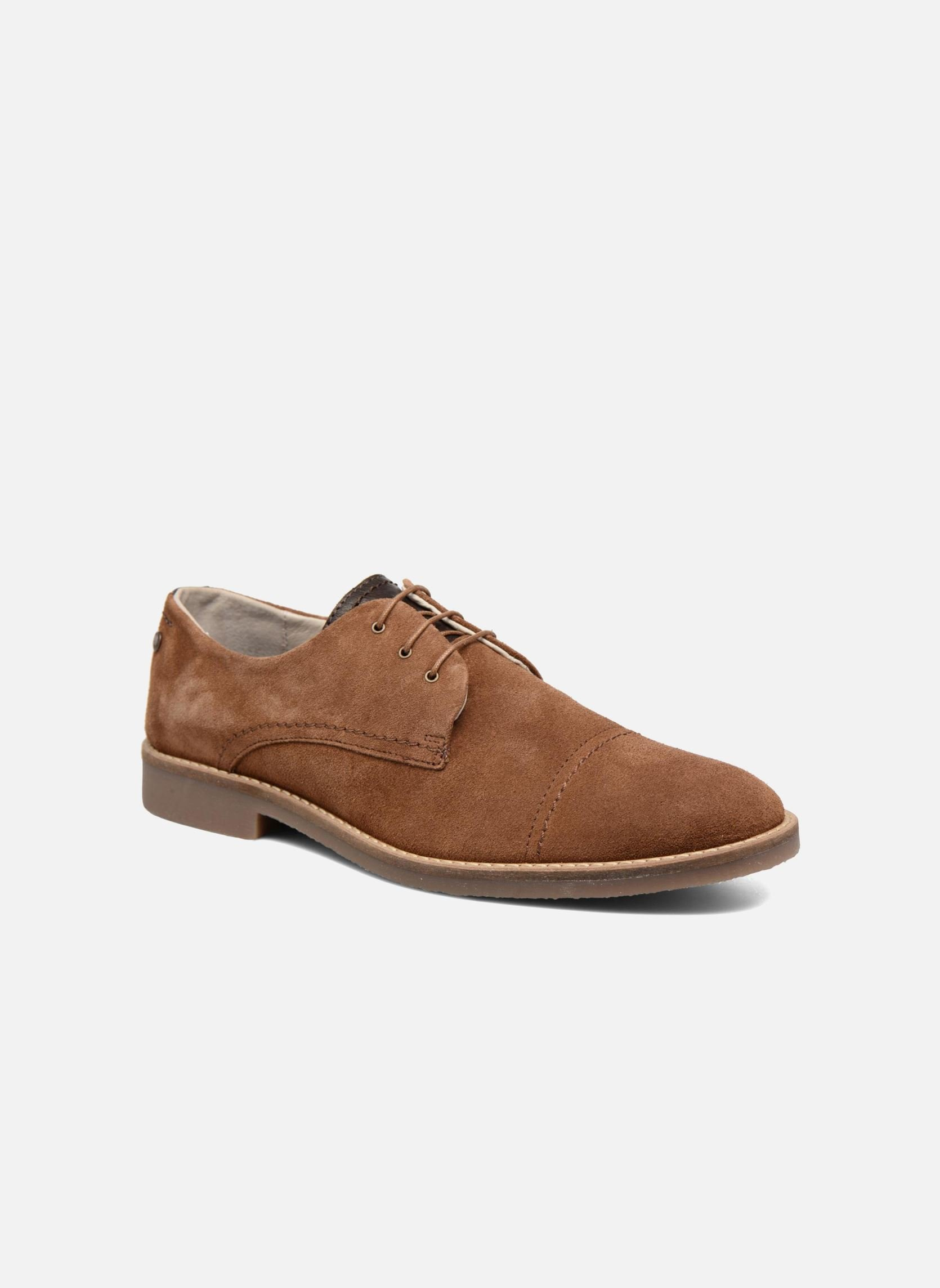 Jack Amp Jones Jfw Billy Suede Lace Up Shoes In Brown At Sarenza Co Uk 286747