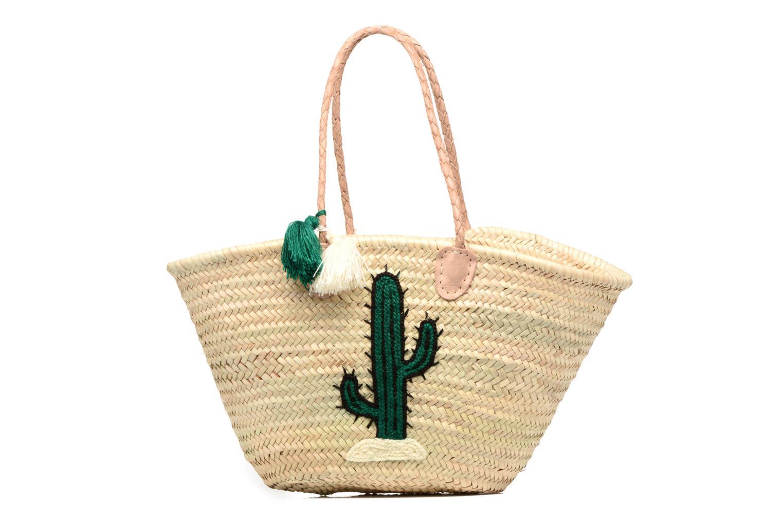 Panier artisanal Cactus Vert