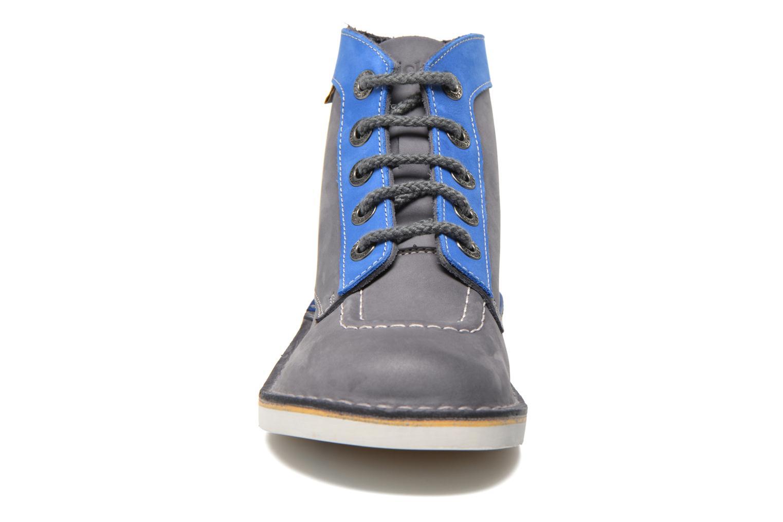 Veterschoenen Kickers Kick col Blauw model