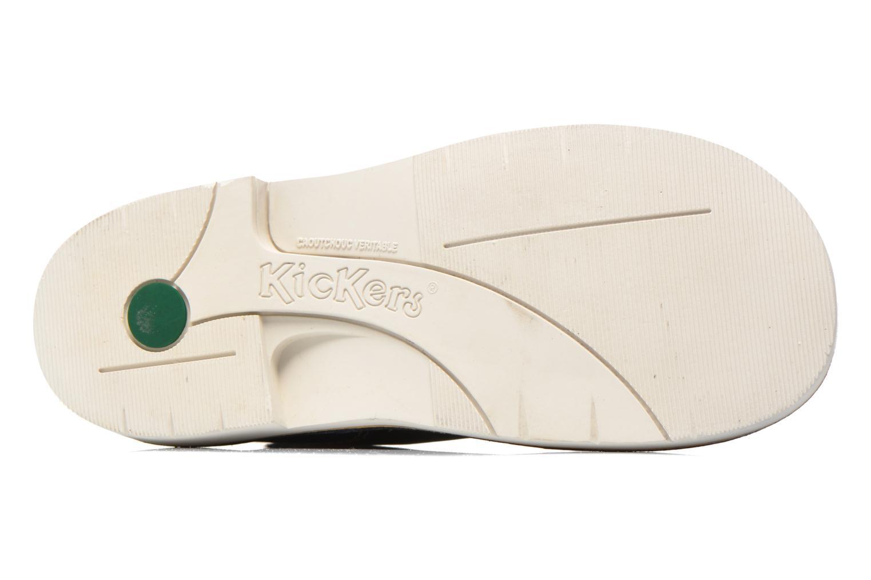 Chaussures à lacets Kickers Kick Col Bleu vue haut