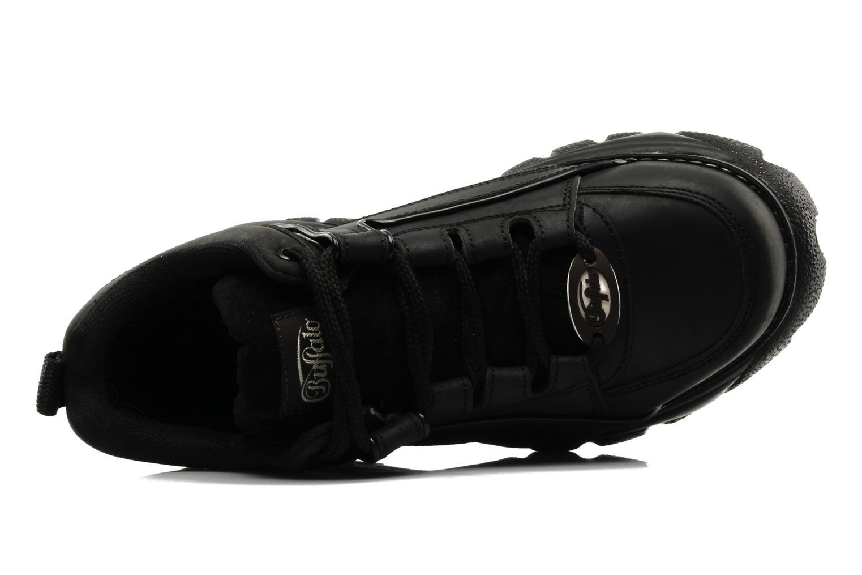 Sneaker Buffalo Texas Oil schwarz ansicht von links