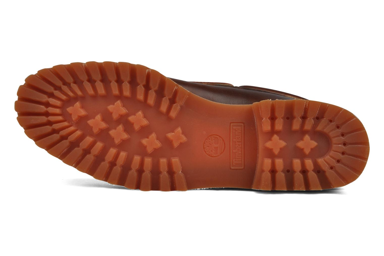 Chaussures à lacets Timberland Authentics FTM 3 Eye Classic Lug Marron vue haut