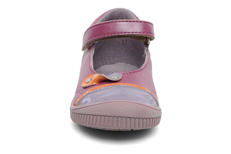 Ballerines Kickers Nolita Violet vue portées chaussures