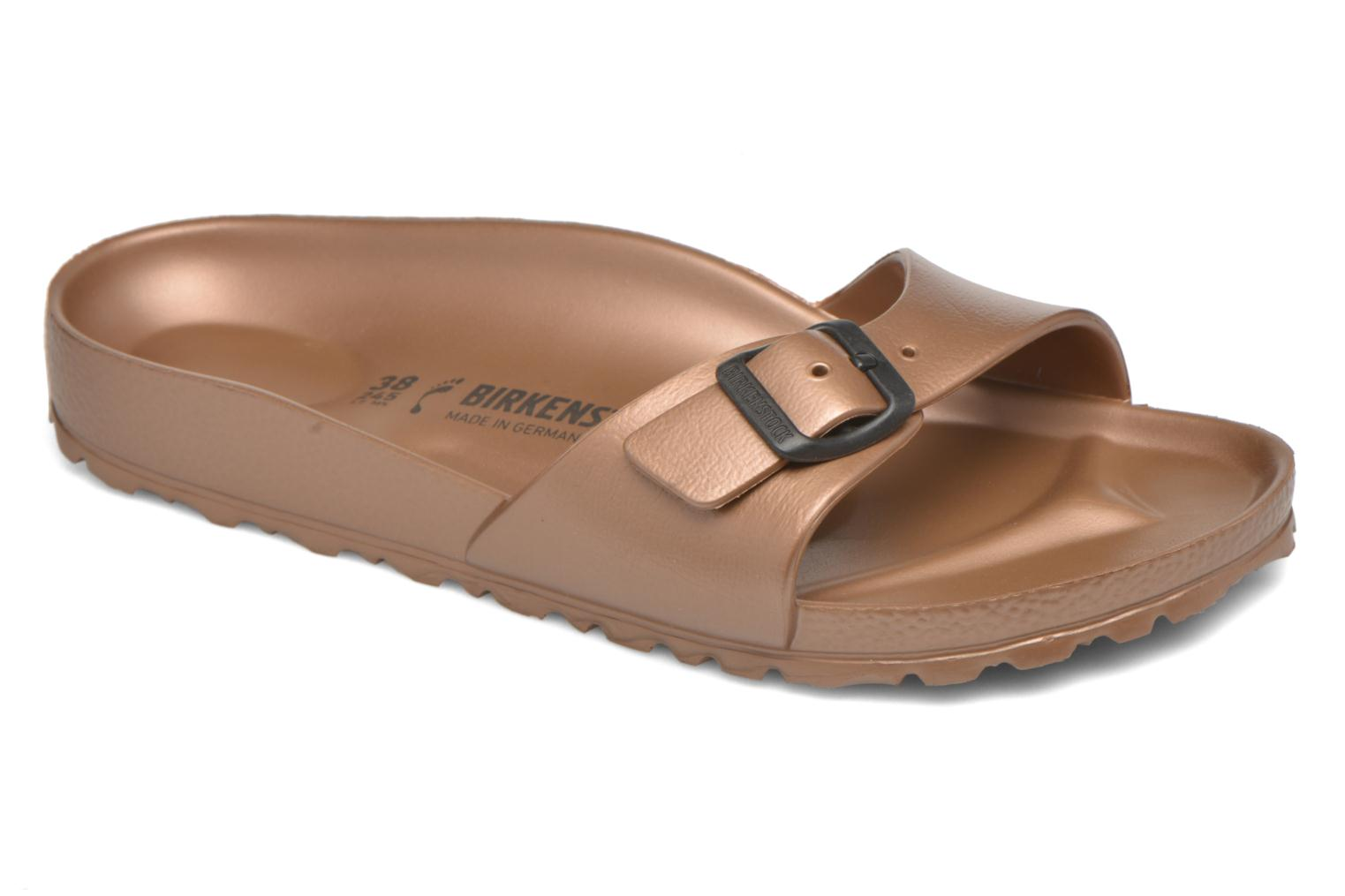 Mules & clogs Birkenstock Madrid Brown detailed view/ Pair view