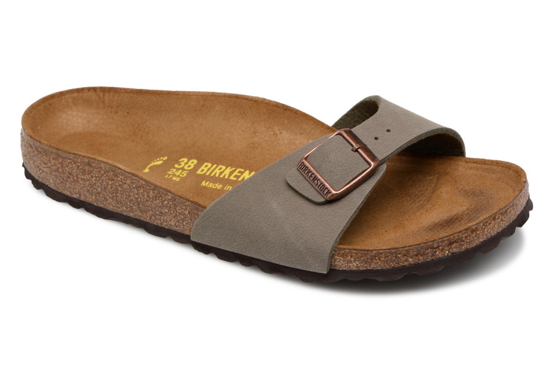 Zapatos de hombres y mujeres de moda casual Zuecos Birkenstock Madrid (Gris) - Zuecos casual en Más cómodo 32226f