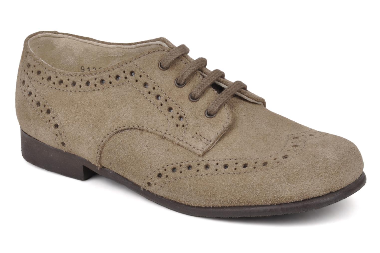 Chaussures à lacets Start Rite Charles Beige vue détail/paire