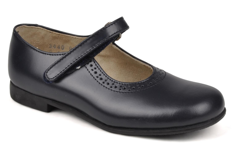 Delphine Navy leather