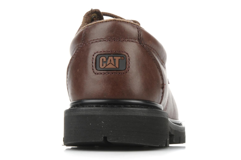 Chaussures à lacets Caterpillar Falmouth Marron vue droite