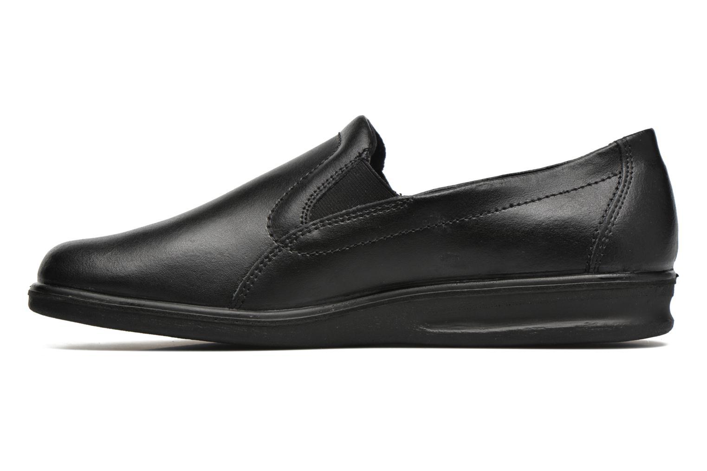 Pantoffels Romika Präsident 88 Zwart voorkant