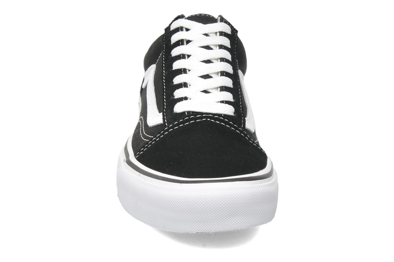 Sneakers Vans Old Skool W Nero modello indossato