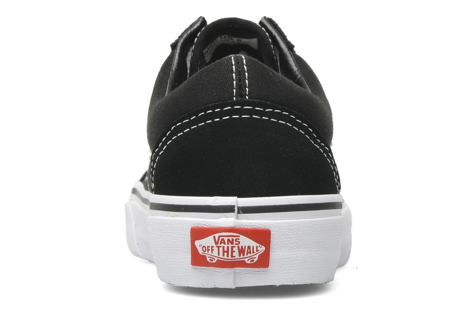 Trainers Vans Old Skool W Black view from the right
