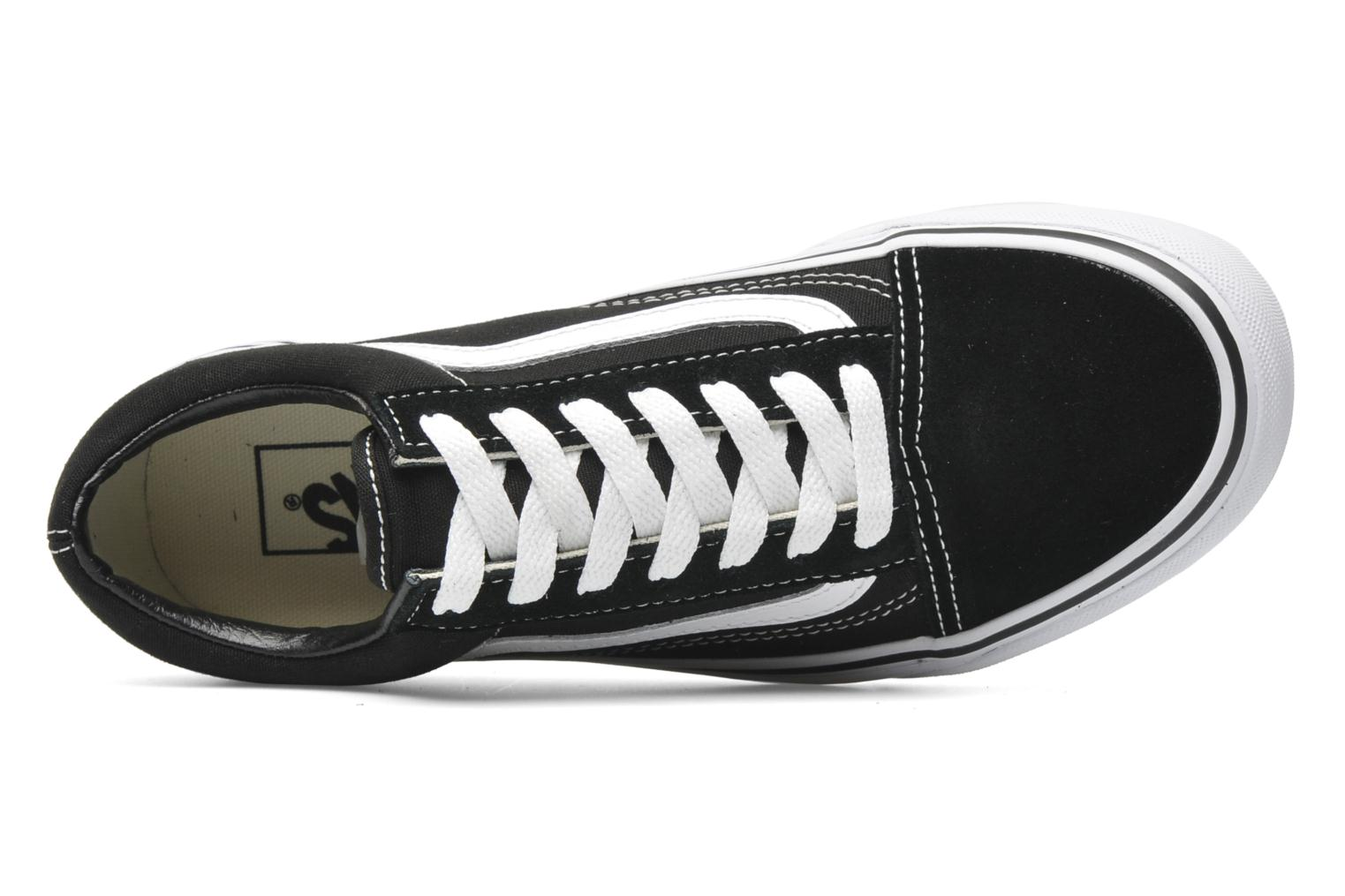 Trainers Vans Old Skool W Black view from the left