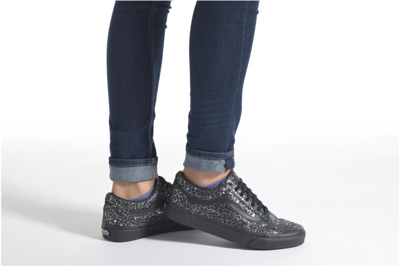 Sneakers Vans Old Skool W Sort se forneden