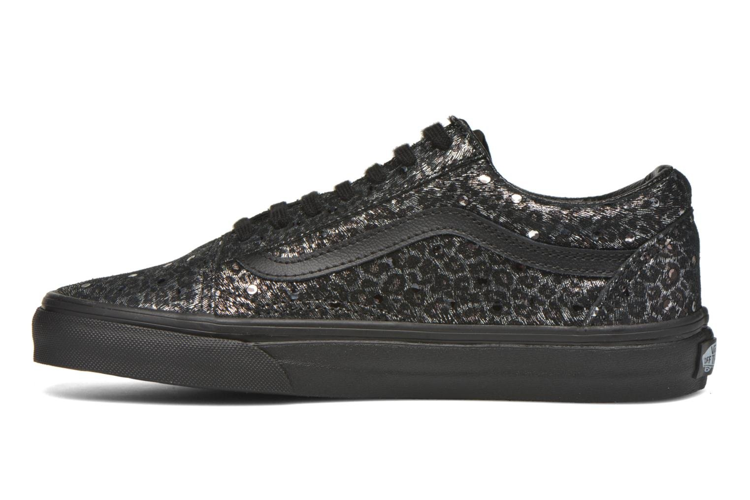 Old Skool W (Metallic Leopard) Black/Black