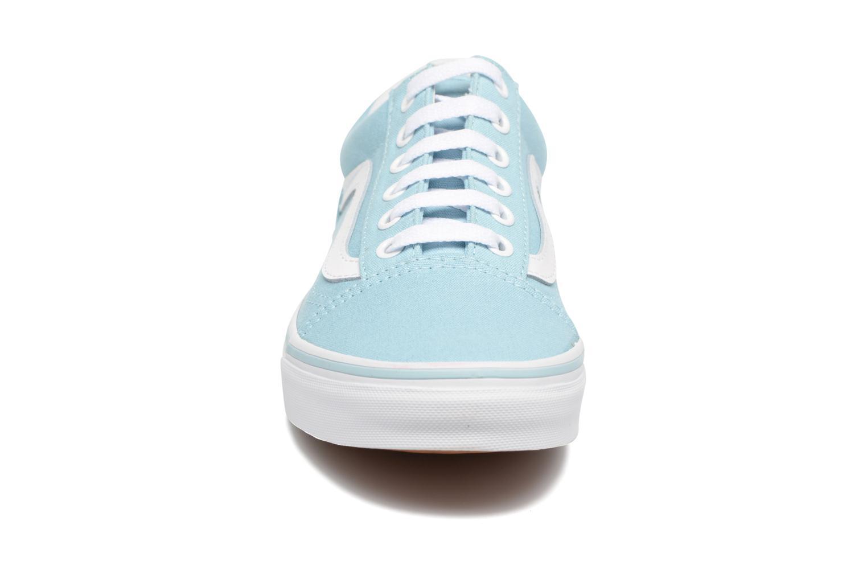 Sneaker Vans Old Skool W blau schuhe getragen