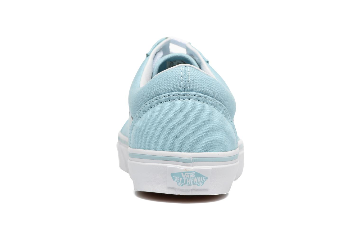 Trainers Vans Old Skool W Blue view from the right