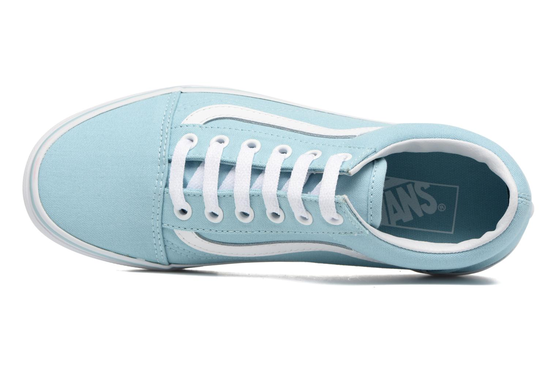 Sneaker Vans Old Skool W blau ansicht von links