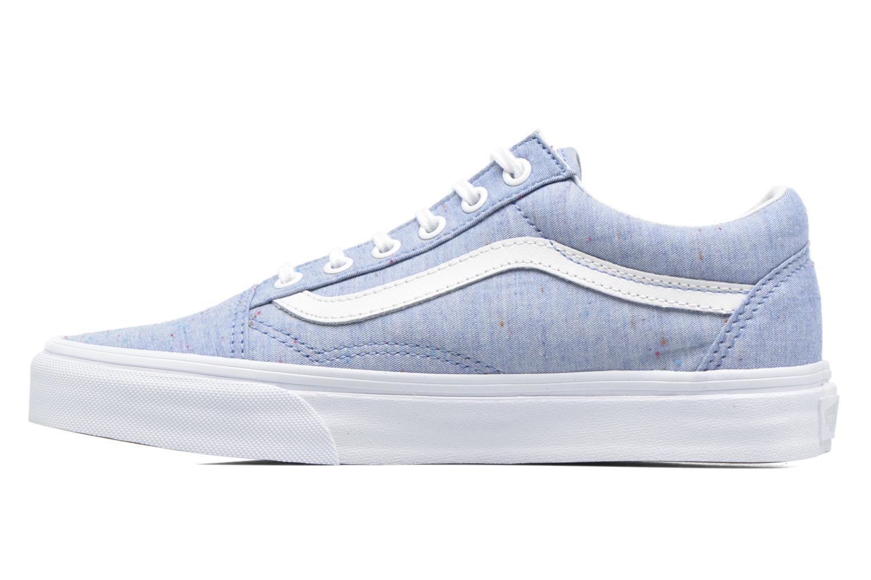 Sneakers Vans Old Skool W Azzurro immagine frontale