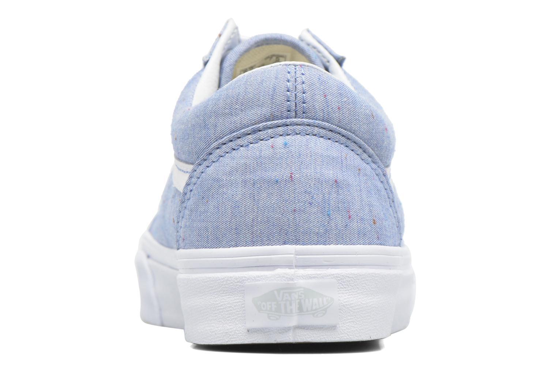 Sneakers Vans Old Skool W Azzurro immagine destra