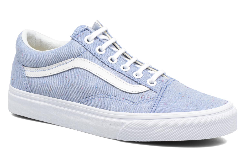 Baskets Vans Old Skool W Bleu vue détail/paire