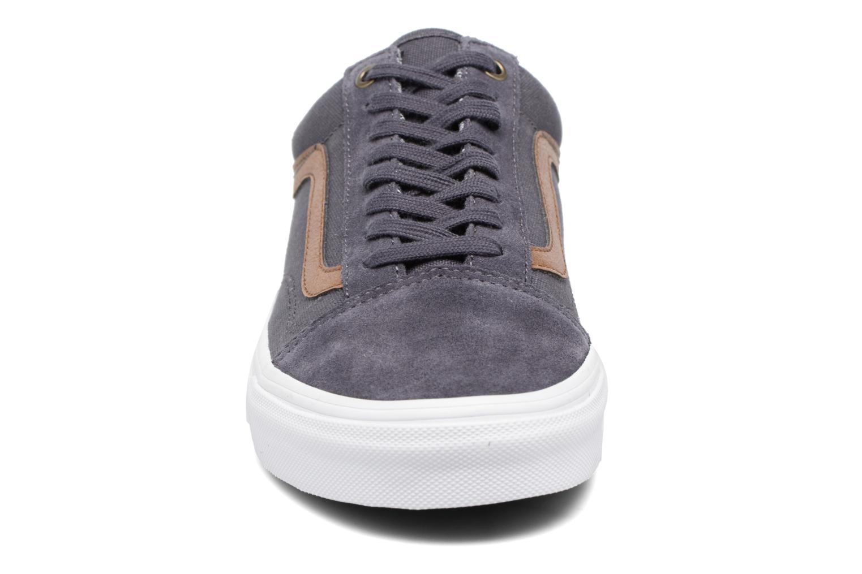 Baskets Vans Old Skool W Gris vue portées chaussures